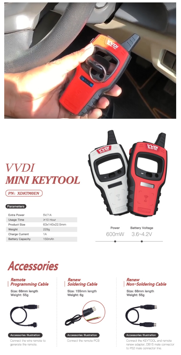 Get - to - know - New - Version - Mini - VVDI - Key - tool