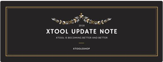 XTOOL -UPDATE- - -1